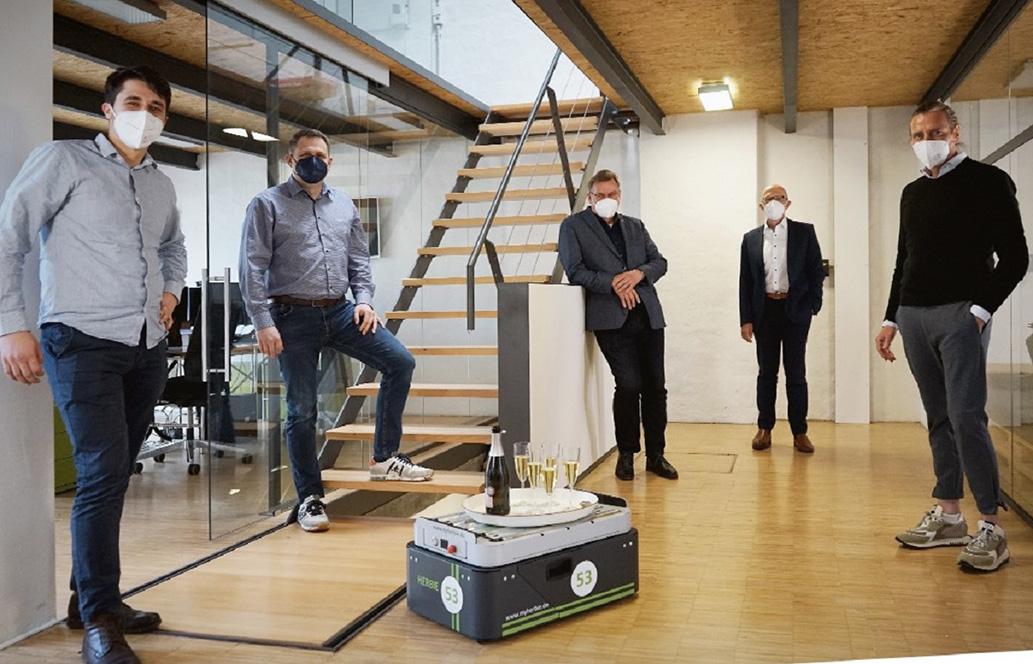 Ausgründung der Carrybots GmbH-